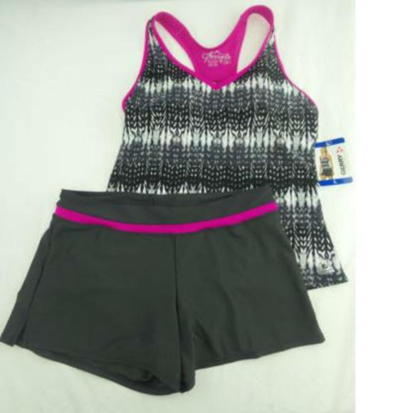 54fa2d18e176b gerry Swim | Womens Colorblock Tankini Suit | Poshmark